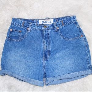 express blues denim shorts, size 9/10